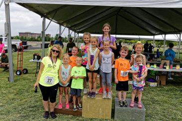 19-kids on the podium