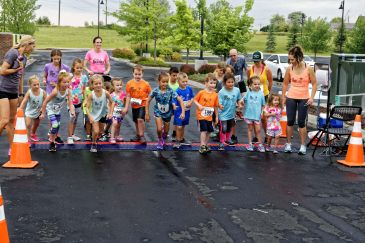 9-Kids fun run!