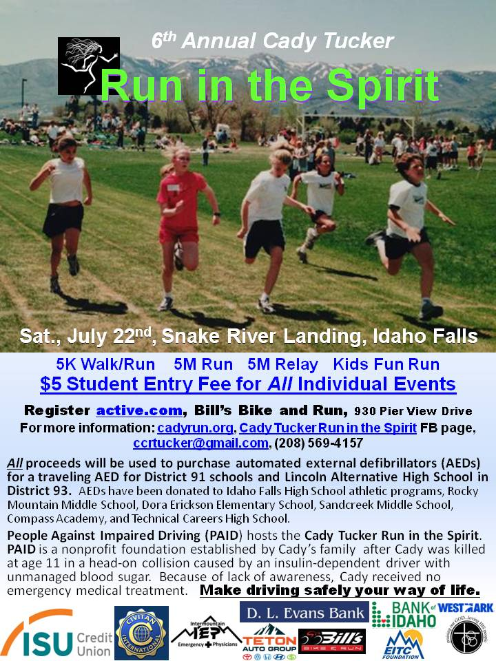 Cady 2017 Run in the Spirit 5-3-16 draft